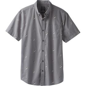 Prana Broderick Slim SS Shirt Men gravel